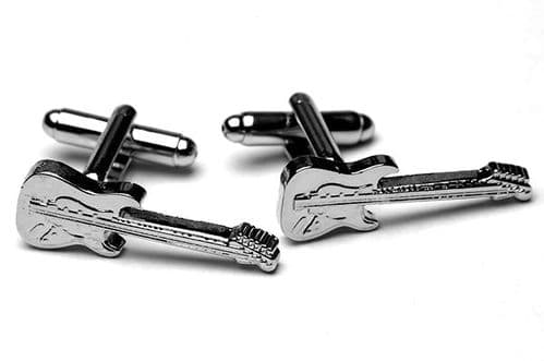 Fender Stratocaster Guitar Cufflinks by Gifticuffs