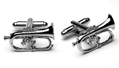 Flugel Horn Cufflinks by Gifticuffs