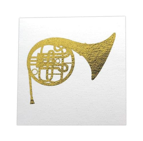 French Horn Emoji Card by Colcards