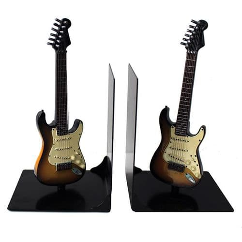 Guitar Bookends - Iconic Shape