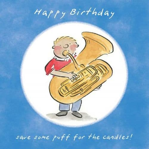 Happy Birthday Save Some Puff For The Candles by HM