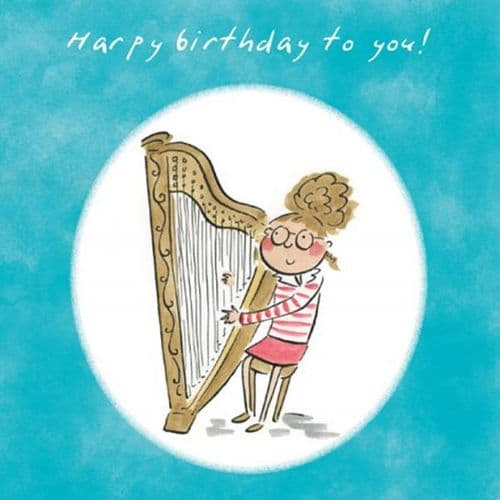 Happy Birthday To You Card by HM