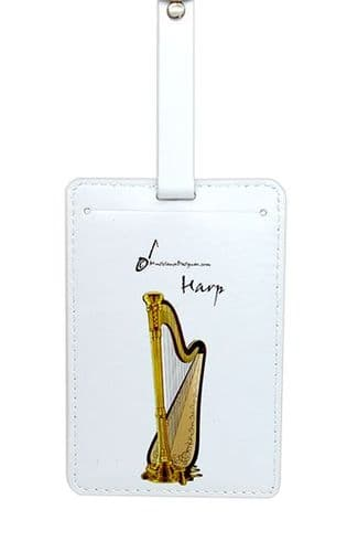 Harp Luggage Label by MD