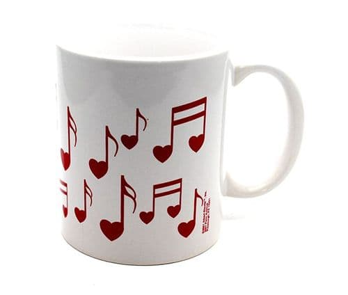 Heart Note Mug by HL