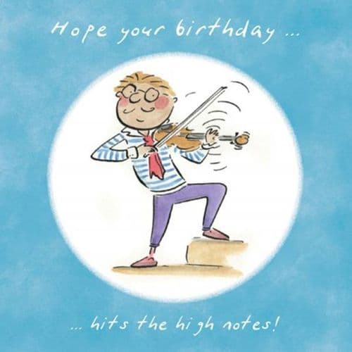 Hope Your Birthday Hits The High Notes by HM