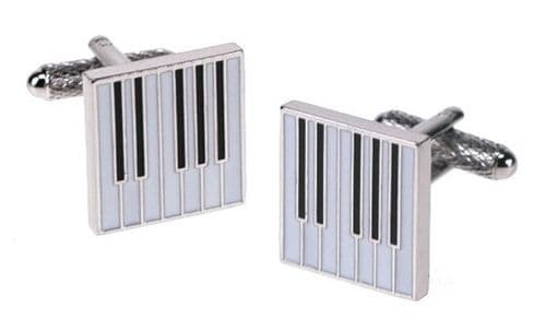 Keyboard Cufflinks by Onyx Art