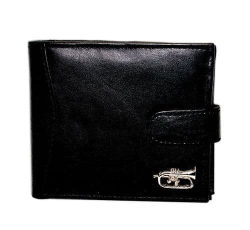 Leather Wallet with Flugelhorn Motif by GC