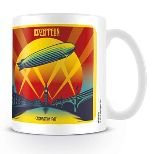 Led Zeppelin Celebration Day Mug