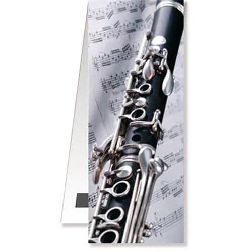 Magnetic Bookmark - Clarinet by VW
