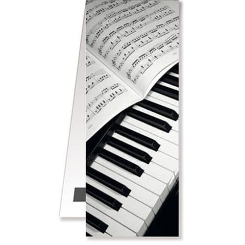 Magnetic Bookmark - Piano by VW