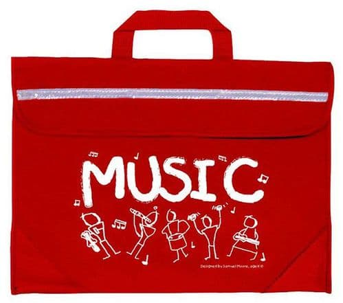 Mapac Duo Moore Music Bag in Various Colours