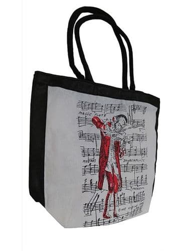 Mozart Shopping Bag in White