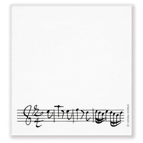 Music Stave Sticky Notes by VW