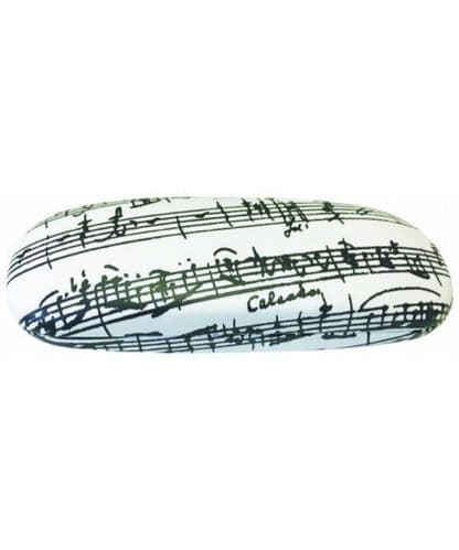 Musical Glasses Case in White - Music Gift | musical gifts online