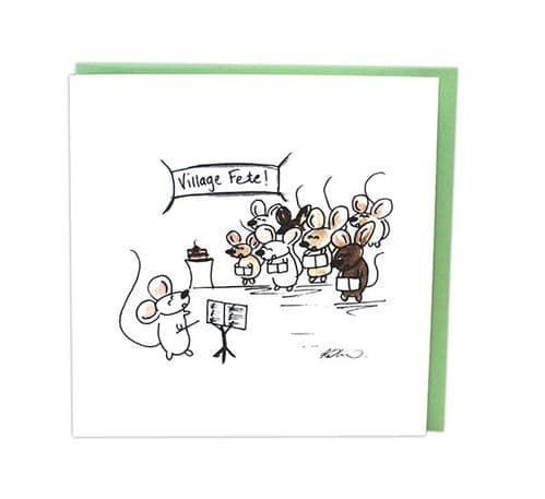 Musical Mice Choir by Col Cards