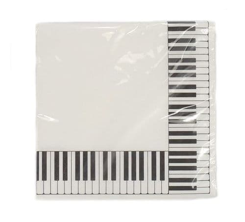 Napkins - Keyboard by AGR - 33 x 33cm