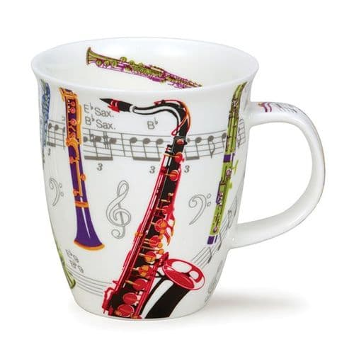 Nevis Tempo Saxophone Mug by Dunoon
