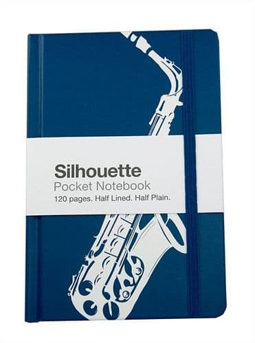 Notebook- A6 Saxophone by Mygifts