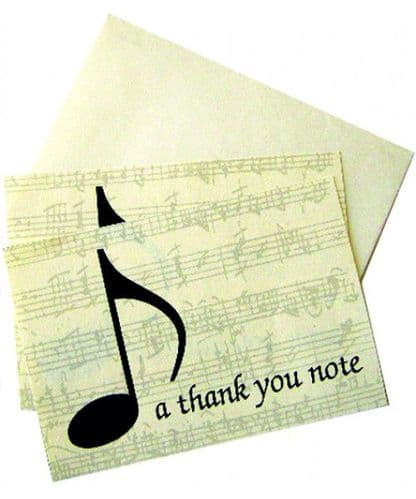 Notelets - A Thank You Note by MGC