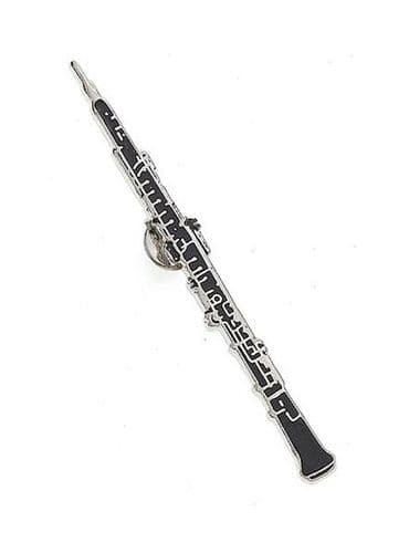 Oboe Lapel Pin Badge by AIMG
