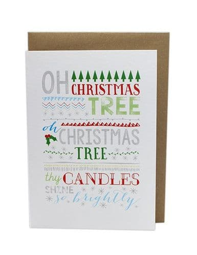Oh Christmas Tree Card by MS