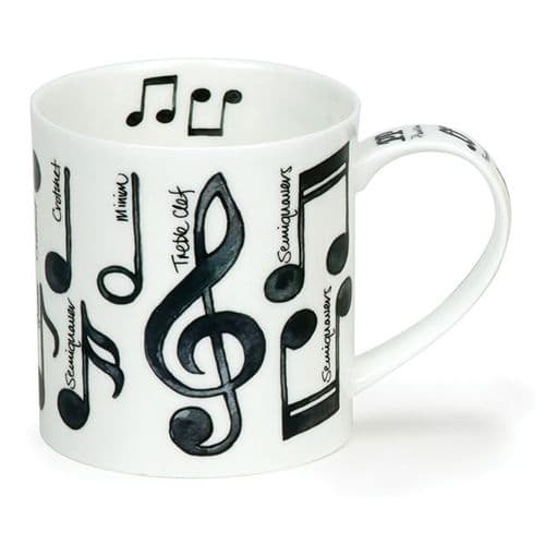 Orkney Music Notes Mug by Dunoon