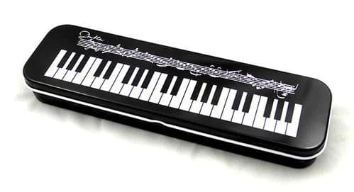 Pencil Case - Tin - Keyboard Design