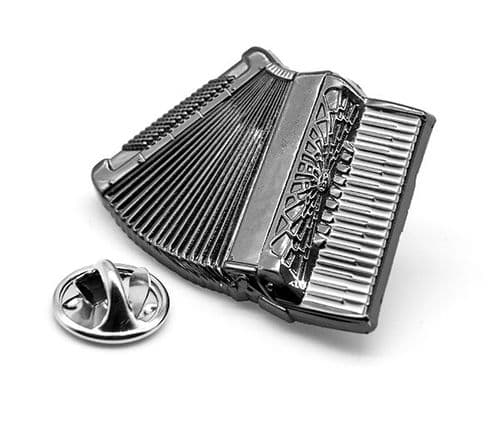 Piano Accordion Lapel Badge by Gifticuffs