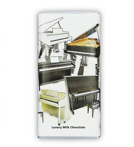Piano Chocolate Bar by GC