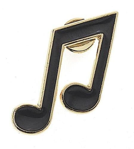 Quaver Lapel Pin by AIMG