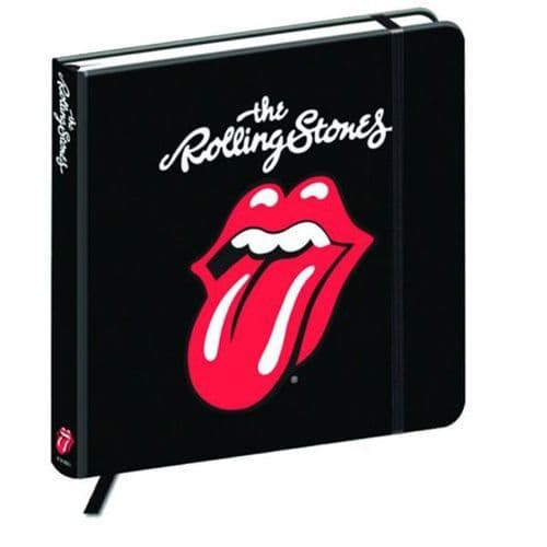 Rolling Stones 176mm Square Tongue Notebook