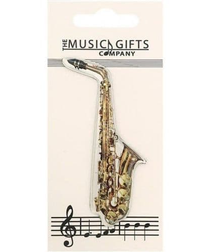 Saxophone Fridge Magnet by MGC