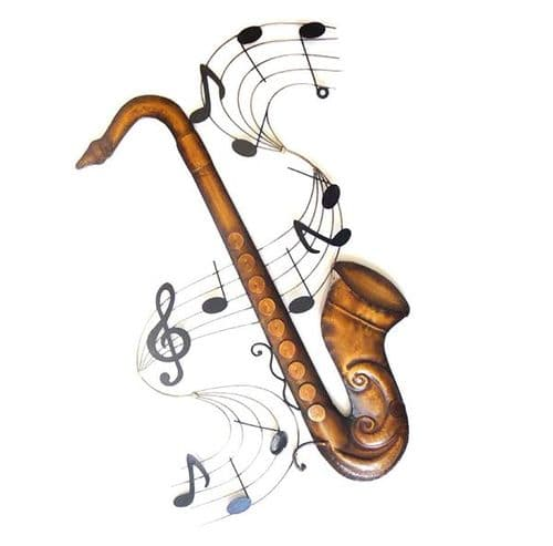 Saxophone Scroll Wall Art by SKStyle