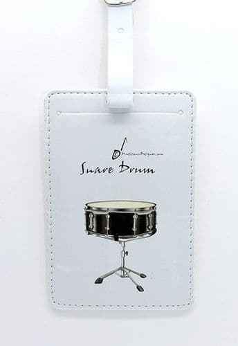 Snare Drum Luggage Label by MD