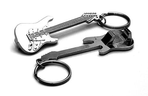 Stratocaster Guitar Bottle Opener/Keyring by Gifticuffs
