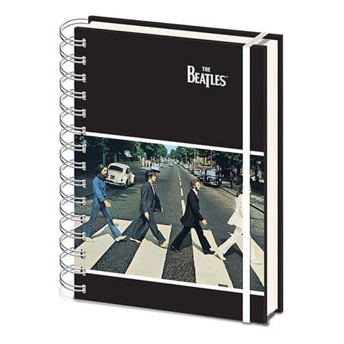 The Beatles Abbey Road A5 Notebook - Music Notebook | musical gifts online