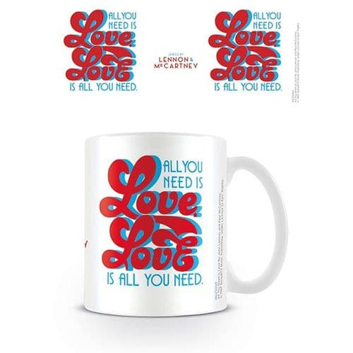 "The Beatles ""All You Need Is Love"" Mug"