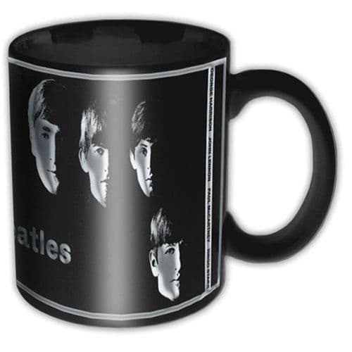 The Beatles Black Mug