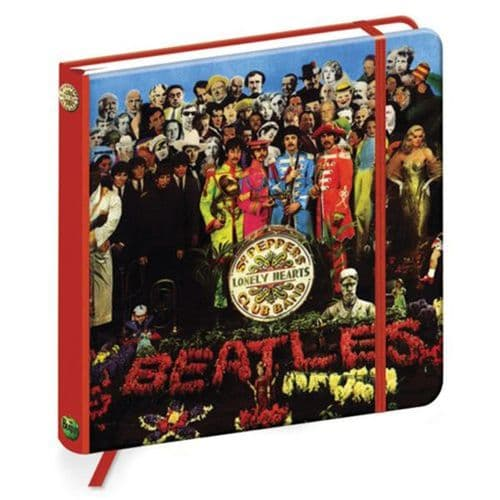 The Beatles Sgt.Peppers Lonely Hearts 176mm Sq Notebook