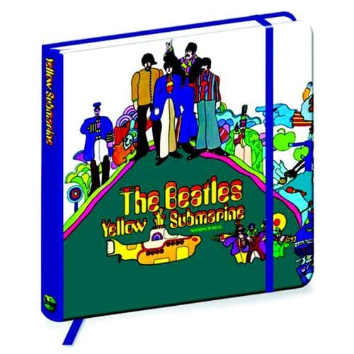 The Beatles Yellow Submarine 176mm Sq Notebook