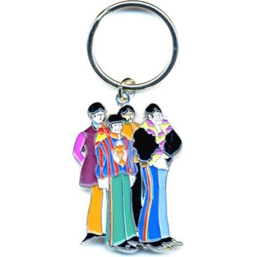 The Beatles Yellow Submarine Band Die-cast Metal Keyring