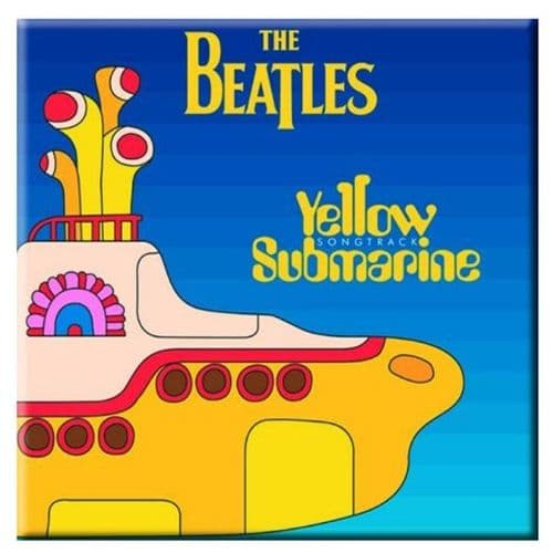 The Beatles Yellow Submarine Fridge Magnet
