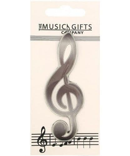 Treble Clef Fridge Magnet by MGC