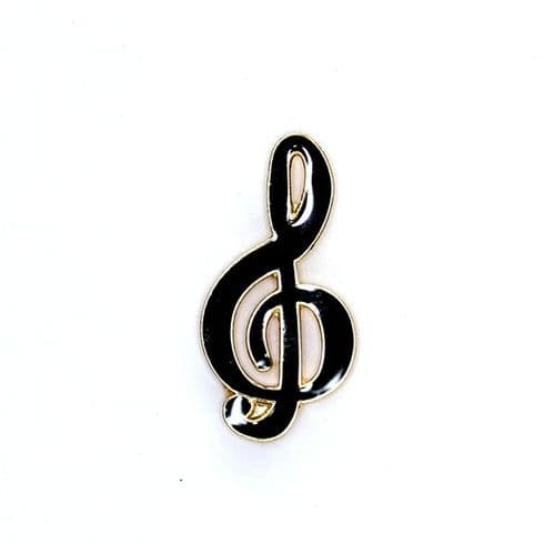 Treble Clef Lapel Pin by AIMG