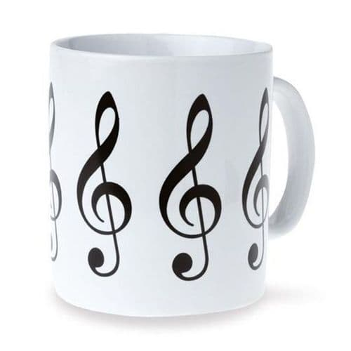 Treble Clef mug by VW