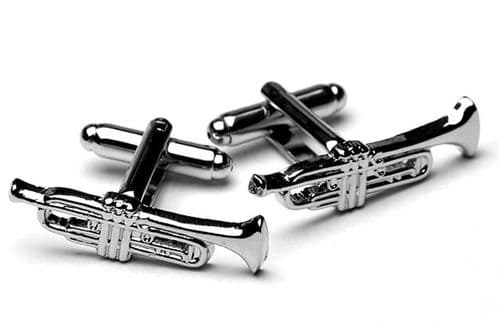 Trumpet Cufflinks by Gifticuffs