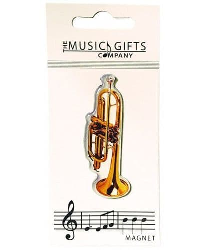 Trumpet Fridge Magnet by MGC