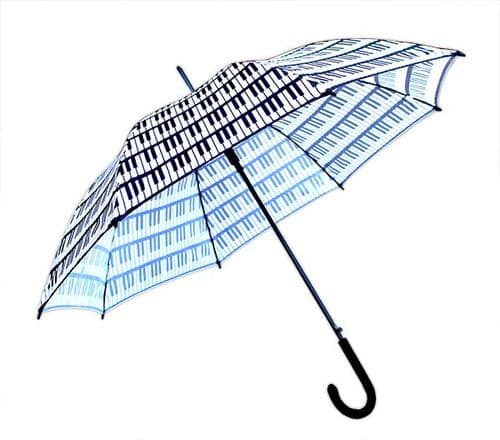 Keyboard Umbrella - Full Size  - Music Umbrella | musical gifts online