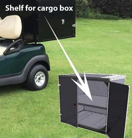 Club Car, Shelf for closed aluminium cargo box