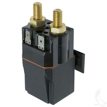 Club Car, Solenoid, 48V Terminal Copper, Precedent with Slide in Mounting Bracket
